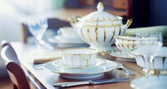Tableware & Place Settings for Property, Yachts, Jets | Harlequin