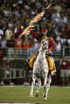 Chief Osceola @ FSU Football Game
