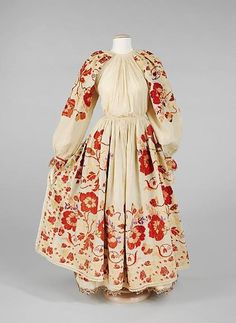 Croatia, Moslavina ( micro-region situated between Zagreb region and Slavonia) national costumes characterized by countless combinations of floral motives and colors that probably reflect blooming meadows of this zone