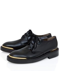 Marni Black Silviano Conti Leather Derby Shoes | Women's Shoes | Liberty.co.uk
