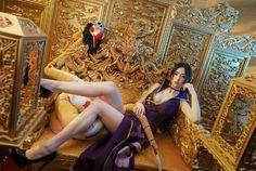 Boa Hancock Hot Cosplay by Thai Model Killer Legs, Thai Model, One Piece Dress, Sexy Asian Girls, Cosplay Girls, Aurora Sleeping Beauty, Wonder Woman, Poses, People