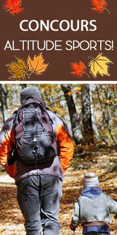 Gagnez un sac à dos de randonnée d'Altitude-Sports. Fin le 16 novembre.  http://rienquedugratuit.ca/concours/sac-a-dos-altitude-sports/
