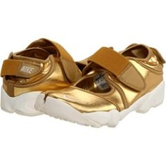 a61904a4fccd1e NIKE Women s Air Rift White Leather Split Toe Shoe These are in ...
