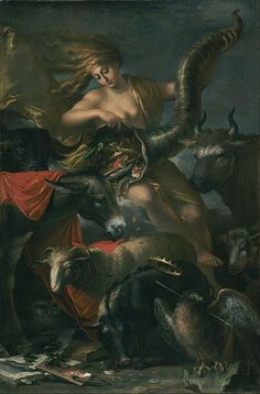 Salvator Rosa (1615-1673). Allegory of Fortune