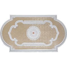 Large Rectangular Ceiling Medallion