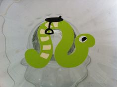Snake Cupcake Topper by JellyBeanPaper on Etsy, $7.50