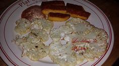 Chou fleur rôti au four et ses frites de polenta