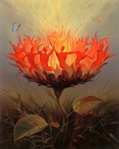 vladimir kush fiery dance - Google Search