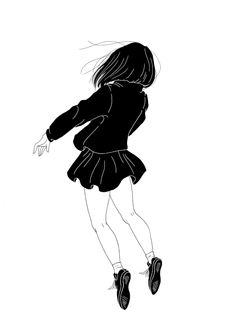 EatSleepDraw is an online art gallery where we post original content submitted by contributors across the globe. Black And White Art Drawing, Black And White Illustration, Art Sketches, Art Drawings, Poses References, Sad Art, Ink Illustrations, Illustration Artists, Cool Animations