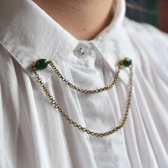 ESSIE JADE Collar Tips, Wedding Purse, Essie, Brooch Pin, Jade, Purses, Jewelry, Brooches, Style