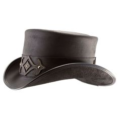 894afd9089517 Browse leather Voodoo Hatter hats featuring unique details to fit your  lifestyle, all made in the USA. Shop our top hats today at American Hat  Makers!
