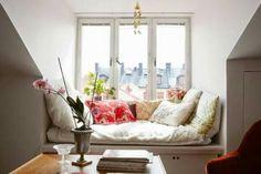 Sofá de janela