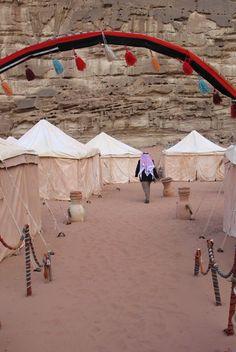 Wadi Rum, Bedouin camp