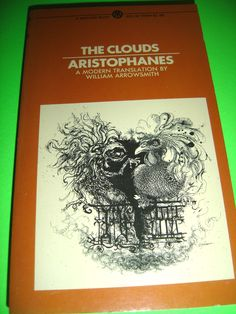 THE CLOUDS ARISTOPHANES A MODERN TRANSLATION BY WILLIAM ARROWSMITH 1962 PB BOOK