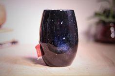 ODDBALL: Stellar Cup, 16 oz, Elegant Pottery Cup, Pottery Cup, Handmade Pottery Cup, Artisan Pottery, Stellar Cup, Nebula Cup, Blac by SublimePotteryStudio on Etsy https://www.etsy.com/listing/497020406/oddball-stellar-cup-16-oz-elegant