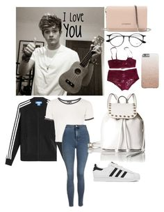 """Neive"" by nbrmacdonald ❤ liked on Polyvore featuring adidas Originals, Givenchy, Ray-Ban, Eres, Topshop, Rebecca Minkoff and adidas"