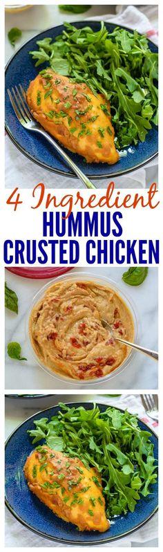 4 Ingredient Hummus