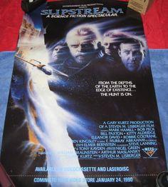 Slipstream 2 sided video release poster Mark Hamill Star Wars Bill Paxton