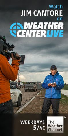 Jim Cantore is a few counties north of here to cover Hurricane Arthur and THAT makes a person uneasy. Jim Cantore, Storm Tracker, Weather Center, Weather Storm, Weather Seasons, Rain Umbrella, Tornadoes, The Weather Channel, Deep Love