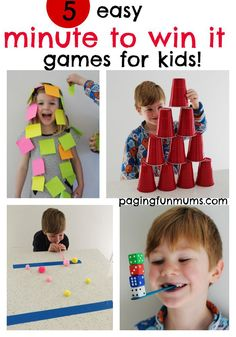 5+easy+'minute+to+win+it'+games+for+kids