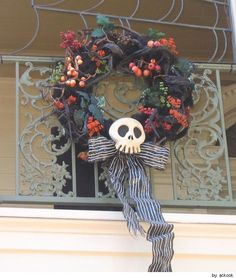 Haunted Mansion wreath