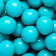Tiffany blue candy
