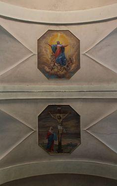 Affreschi sulle volte, chiesa santa Maria della Neve | Bareggio