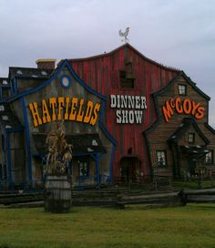 Hatfields and McCoys - Dinner Show - One of the best shows in Pigeon Forge, Tennessee! By the time I would decide which one to be, the dinner show would probably be over. Gatlinburg Vacation, Gatlinburg Tennessee, Tennessee Vacation, Vacation Places, Dream Vacations, Pigeon Forge Attractions, Smoky Mountains Tennessee, Hatfields And Mccoys, Pigeon Forge Tennessee