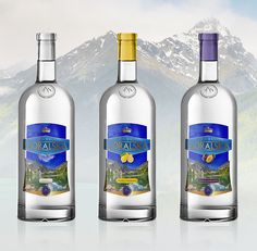 Vodka goralska | Label design