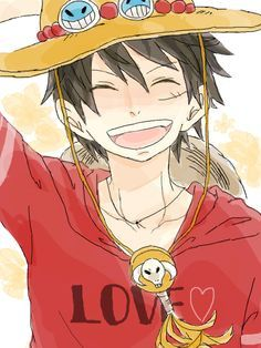 Luffy as Ace Piece