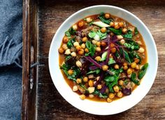 Best Curried Chickpeas With Rosemary And Thyme Recipe on Pinterest