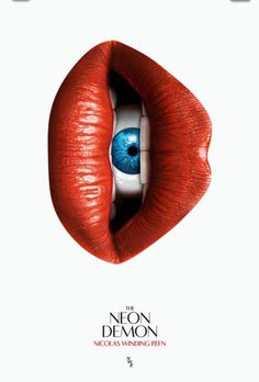 Keep an eye on the alternative poster for The Neon Demon. Directed by Nicholas Winding Refn (Drive), the film is in theaters now. Best Movie Posters, Cinema Posters, Movie Poster Art, Cool Posters, Gig Poster, The Neon Demon, Demon Art, Fanart, Poster