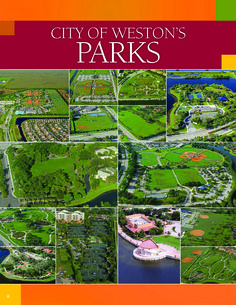 CITY OF WESTON'S PARKS #LoveYourHome #WestonFL