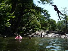 Beat the summer heat in Texas at these watering holes and waterfalls #summer #texas