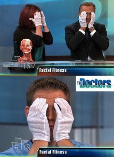 Facial Fitness on The Doctors TV #facialfitness #facialexercise #facialmagic  Watch clip - http://www.youtube.com/watch?v=bj5di8qmNJQ