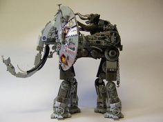 This elephant robot is mad cool, as long as it is the size of a real elephant.