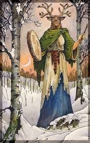 Wildwood Tarot - The Ancestor: the pathfinder guide, the call of the wild