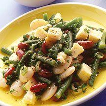 Cheesy Three Bean Salad
