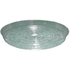 """Round Plant Saucer Size / Pack: 14"""" / 10 by Hydrofarm. $19.16. HGS14 Size / Pack: 14"""" / 10 Features: -Sturdy and re-useable clear vinyl saucers.-Available in 6'' / 1 pack, 8'' / 25 pack, 10'' / 25 pack, 12'' / 10 pack and 14'' / 10 pack.-Use these to collect excess water drainage and soil spillage.-Helps keep plants moist longer, and maintains a cleaner garden."""