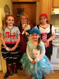 My Son Matt's girls 10/31/2014