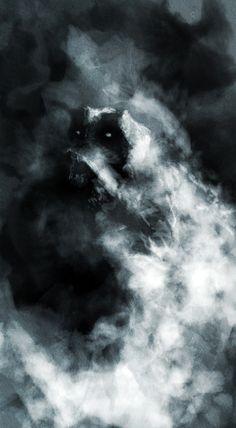 Arnaud de Vallois Scary Art, Spooky Scary, Creepy, Gothic Horror, Horror Art, Scary Images, Darkness Falls, Spiritus, Art Drawings