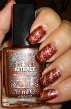 Avon Colour Attract Magnetic Nail Polish - http://yournailart.com/avon-colour-attract-magnetic-nail-polish/ - #nails #nail_art #nail_design #nail_polish