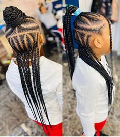 Kids Hairstyles w/ Hair Added Black Kids Braids Hairstyles, Cute Toddler Hairstyles, Cool Hairstyles For Girls, Baby Girl Hairstyles, African Kids Hairstyles, Simple Hairstyles, School Hairstyles, Prom Hairstyles, Celebrity Hairstyles