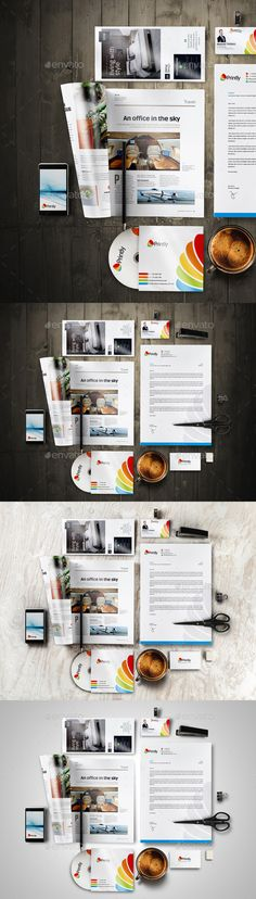 Branding Stationery Mockup (Stationery)
