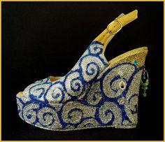 Tweedot blog magazine - mostra ArtVerona Juliet and the forbidden games shoes