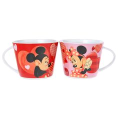 Mickey & Minnie Valentine's Day Mugs