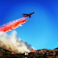 Dc10 dropping in the silver fire