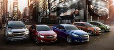 GMs Global Lineup. Chevy Traverse, Chevy Cruze, Chevy Malibu, Chevy Sonic, Chevy Spark