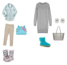 """""""..."""" by luhhbitts on Polyvore featuring Kenzo, UGG Australia, MICHAEL Michael Kors and Aéropostale"""