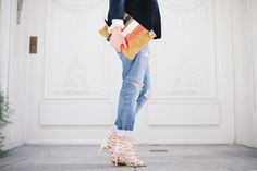 Nine West Authority sandals | Crystalin Marie